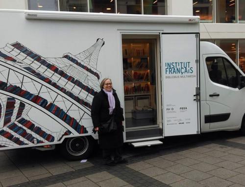 Der neue Bibliobus multimédia in Bielefeld