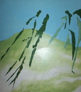 Das Bild von Thomas Willer, das das Veranstaltungsplakat schmückte