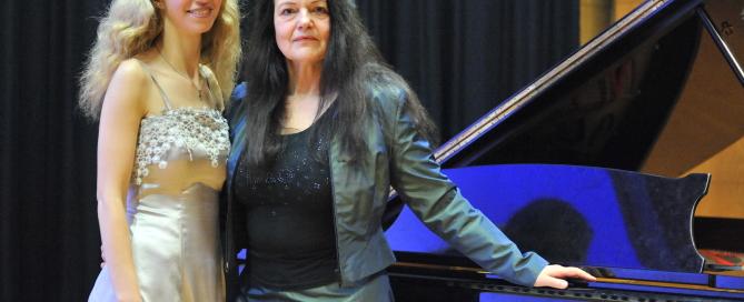 von links: Elena Kassmann, Edith Murasova