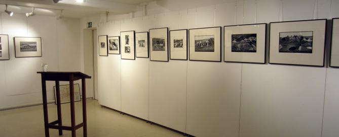 Blick auf Bilder von Jürgen Graetz