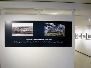 Eingangsbereich der Ausstellung im BauernhausMuseum Bielefeld
