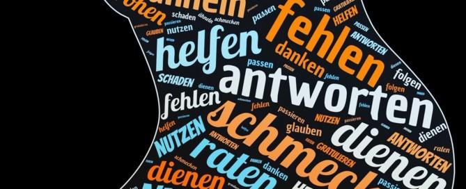 Grammatik in der Wolke | Verben mit Dativ-Ergänzung