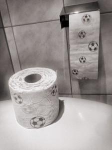 Toilettenpapier Fussball